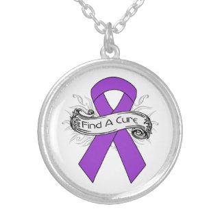 Lupus Find A Cure Ribbon Custom Jewelry