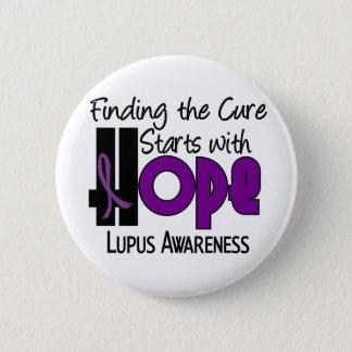 Lupus HOPE 4 6 Cm Round Badge