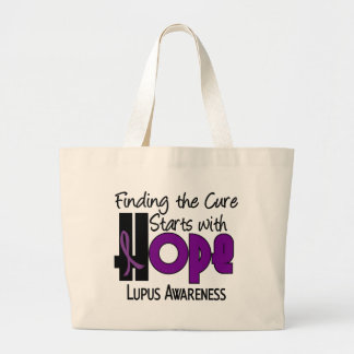 Lupus HOPE 4 Large Tote Bag