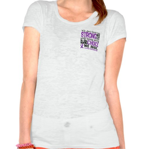 Lupus How Strong We Are T Shirts