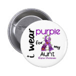 Lupus I WEAR PURPLE FOR MY AUNT 43 Pin