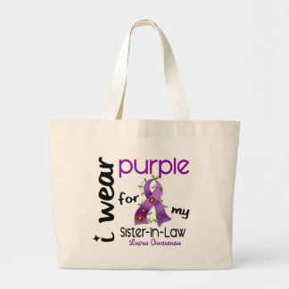 Lupus I WEAR PURPLE FOR MY SISTER-IN-LAW 43 Bags