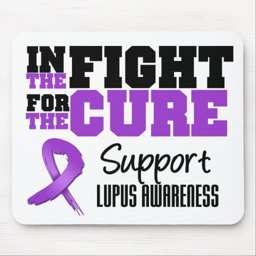 Lupus In The Fight For The Cure Mouse Pad