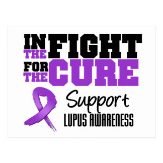 Lupus In The Fight For The Cure Postcard