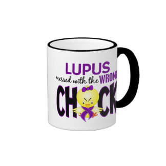 Lupus Messed With The Wrong Chick Mug