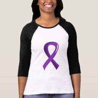 Lupus Purple Ribbon 3 T-Shirt