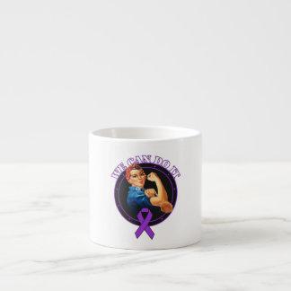 Lupus - Rosie The Riveter - We Can Do It 6 Oz Ceramic Espresso Cup