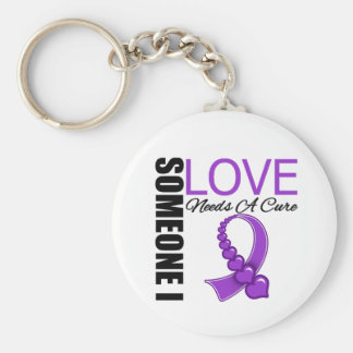 Lupus Someone I Love Needs A Cure Basic Round Button Key Ring