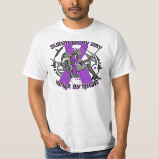 Lupus Survivor By Day Ninja By Night Tees