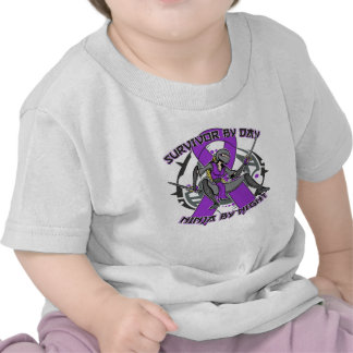 Lupus Survivor By Day Ninja By Night T Shirts