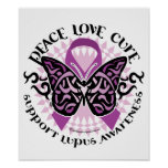 Lupus Tribal Butterfly Posters