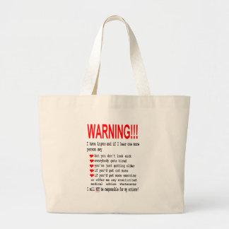 Lupus Warning Bags