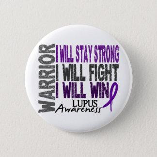 Lupus Warrior 6 Cm Round Badge