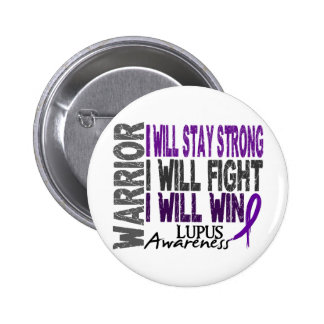 Lupus Warrior 6 Cm Round Badge