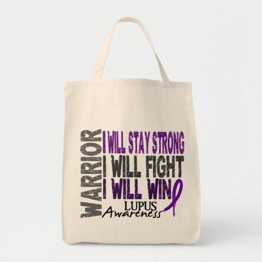 Lupus Warrior Canvas Bag
