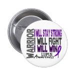 Lupus Warrior Buttons