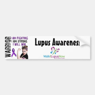 Lupus Warrior Car Bumper Sticker