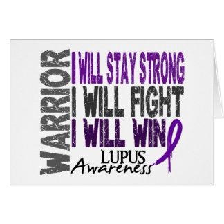 Lupus Warrior Cards