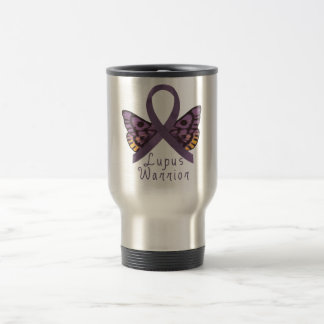 Lupus Warrior Stainless Steel Travel Mug