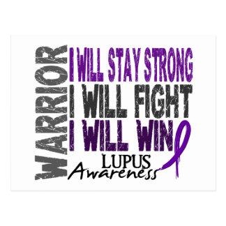 Lupus Warrior Postcards