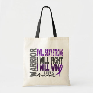 Lupus Warrior Budget Tote Bag