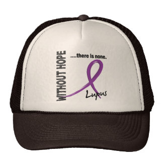Lupus Without Hope 1 Mesh Hats
