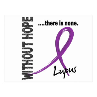 Lupus Without Hope 1 Postcard
