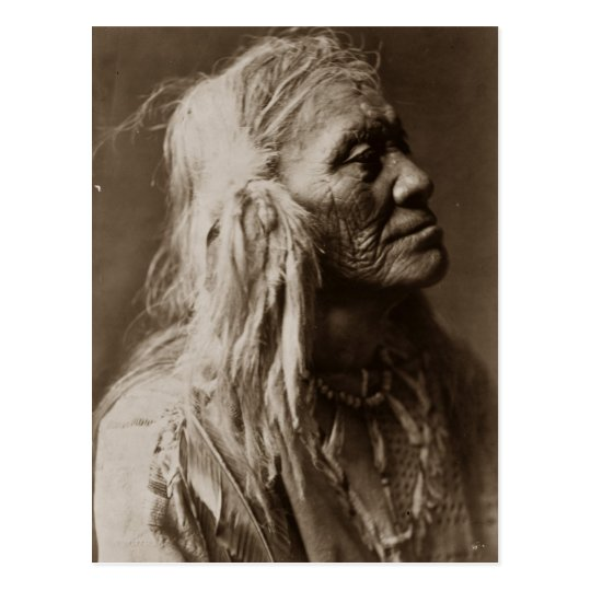 Luqaiot Kittitas Native American Indian Man Postcard