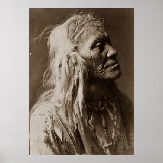 Luqaiot Kittitas Native American Indian Man Poster