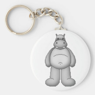 Lura s Critter Plump Hippo Key Chains