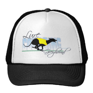 Lure Coursing Greyhound Hat