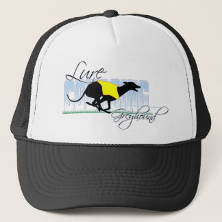 Lure Coursing Greyhound Trucker Hat