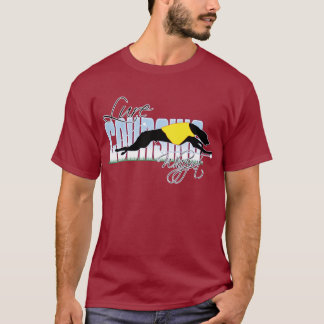 Lure Coursing Whippet T-Shirt