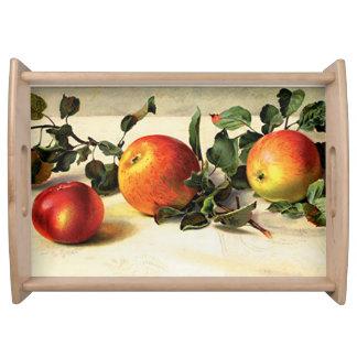 Luscious Apples Serving Platters