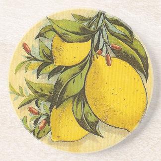 Luscious Lemons Beverage Coaster