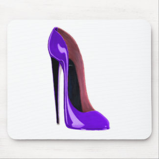 Luscious Lilac Stiletto Shoe Mouse Mat