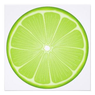Luscious Lime Invites