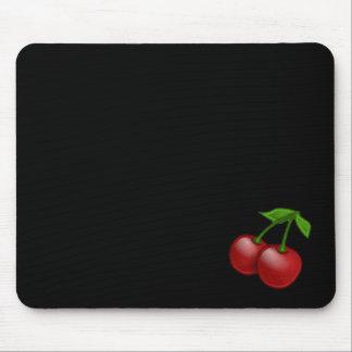 Luscious Retro Cherries Mouse Mat
