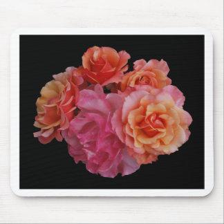 Luscious roses mousepad
