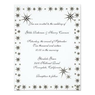 Luscious Stars Wedding Invitation