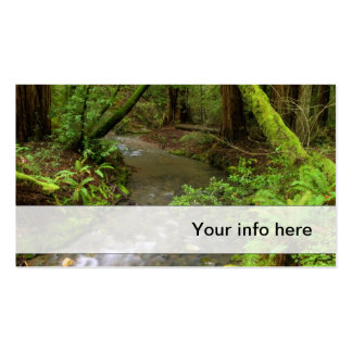 Lush forest business card