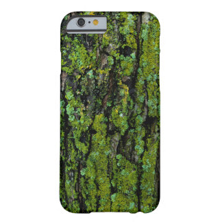 Lush, green, and mossy tree trunk barely there iPhone 6 case