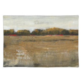 Lush Green Countryside Landscape Placemat