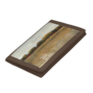 Lush Green Countryside Landscape Trifold Wallets