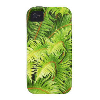 Lush green fern leaves case for the iPhone 4