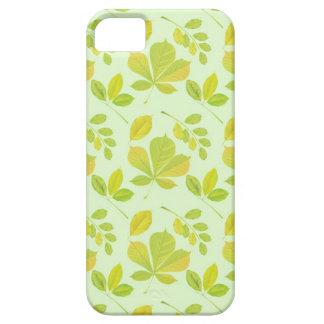 Lush Green Leaves Pattern iPhone 5 Cover
