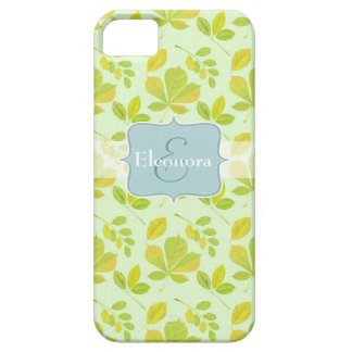 Lush Green Leaves Pattern iPhone 5 Covers
