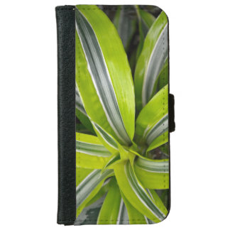 Lush green tropical plant iphone wallet case iPhone 6 wallet case