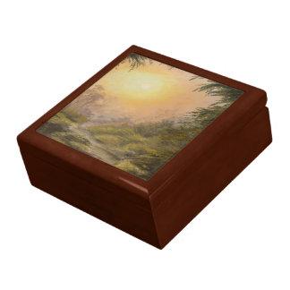 Lush Landscape Jewelry Box
