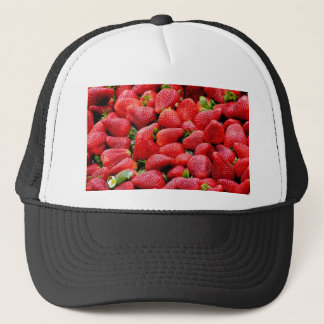 Lush Ripe Strawberries Trucker Hat